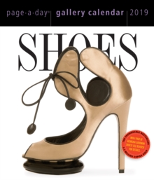2019 Shoes Gallery Page-A-Day Gallery Calendar, Calendar Book