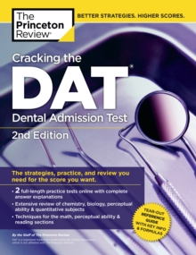 Cracking the DAT, Paperback Book