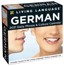 Living Language: German 2021 Day-To-Day Calendar, Calendar Book