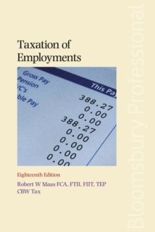 Taxation of Employments, Paperback / softback Book