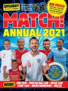 Match Annual 2021, Hardback Book