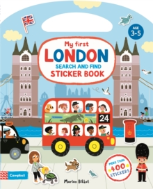My First London Search and Find Sticker Book, Paperback / softback Book