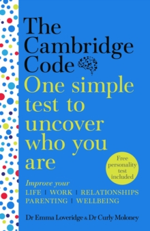 The Cambridge Code : One Simple Test to Uncover Who You Are, Hardback Book