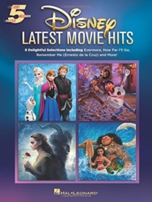 Disney Latest Movie Hits : Five-Finger Piano, Book Book