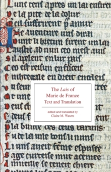 The Lais of Marie de France : Text and Translation, Paperback / softback Book