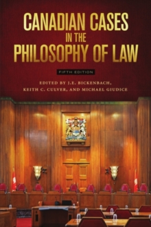 Canadian Cases in the Philosophy of Law, Paperback / softback Book