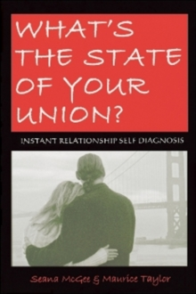 What's the State of Your Union? : Instant Relationship Self-Diagnosis, Paperback Book