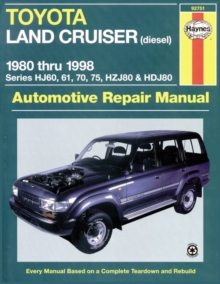 Toyota Land Cruiser Petrol & Diesel Australian Automotive Repair Manual : 1980-1998 92751, Paperback Book
