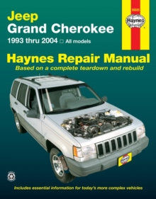 Jeep Grand Cherokee 1993 - 2004 All Models, Paperback Book