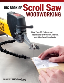 Big Book of Scroll Saw Woodworking, Paperback Book