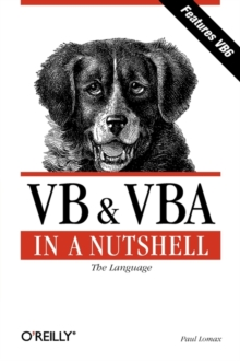 VB and VBA in a Nutshell : The Languages, Paperback Book