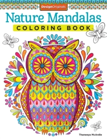 Nature Mandalas Coloring Book, Paperback Book