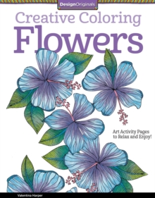 Creative Coloring Flowers, Paperback Book