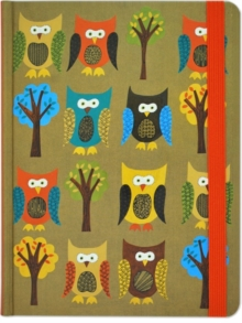 Journal Mid Owls, Diary Book