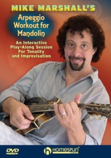 Mike Marshall's Arpeggio Workout for Mandolin, DVD  DVD