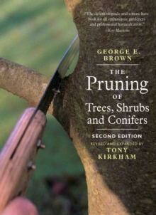 The Pruning of Trees, Shrubs and Conifers, Paperback Book
