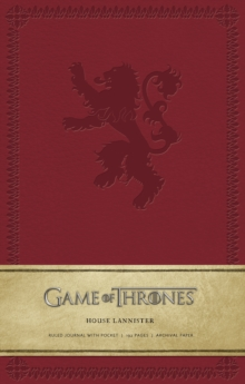 Game of Thrones: House Lannister Hardcov, Hardback Book