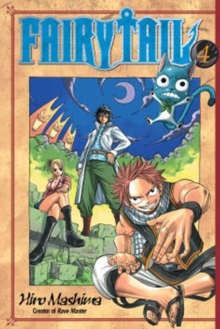 Fairy Tail 4, Paperback Book