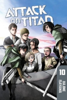 Attack on Titan 10, Paperback Book