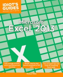 Microsoft Excel 2013, Paperback Book
