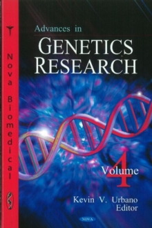 Advances in Genetics Research : Volume 4, Hardback Book