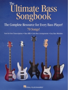 The Ultimate Bass Songbook, Book Book