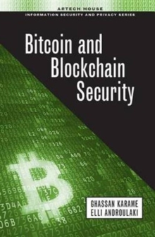 Bitcoin and Blockchain Security, Hardback Book
