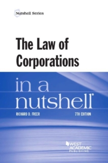 The Law of Corporations in a Nutshell, Paperback / softback Book