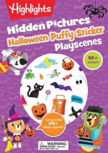 Halloween Puffy Sticker Playscenes, Paperback / softback Book