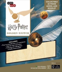 IncrediBuilds: Harry Potter : Golden Snitch 3D Wood Model and Booklet