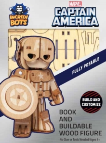 Incredibuilds: Marvel Captain America Incredibot