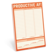 Knock Knock Productive AF! Pad, Other printed item Book