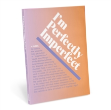 Knock Knock I'm Perfectly Imperfect Inner-Truth Journal (Ombre Edition), Notebook / blank book Book