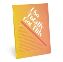 Knock Knock I So Totally Got This Inner-Truth Journal (Ombre Edition), Notebook / blank book Book