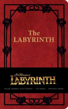 Labyrinth Hardcover Ruled Journal, Hardback Book