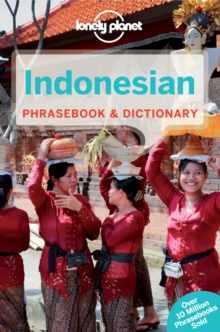 Lonely Planet Indonesian Phrasebook & Dictionary, Paperback Book