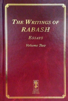 The Writings of Rabash : Essays Volume 2, Hardback Book