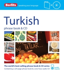 Berlitz Language: Turkish Phrase Book & CD, Paperback Book