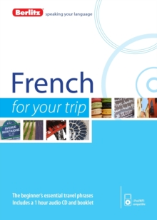 Berlitz Language: French for Your Trip, Paperback Book