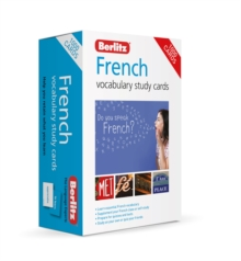 Berlitz French Study Cards (Language Flash Cards), Cards Book