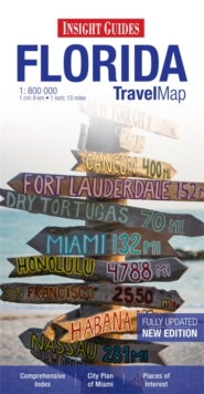 Insight Travel Map: Florida, Sheet map Book