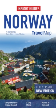 Insight Travel Maps: Norway, Sheet map Book