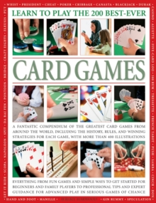 Learn To Play The 200 Best Ever Card Games, Paperback Book