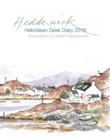 Hebridean Desk Diary 2016, Hardback Book