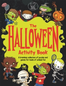 The Halloween Activity Book, Paperback Book
