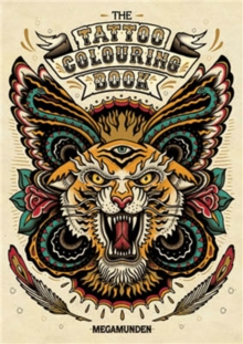 Tattoo Colouring Book, Paperback Book