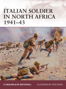 Italian soldier in North Africa 1941-43, Paperback Book