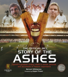 The Official MCC History of the Ashes, Hardback Book