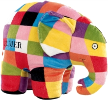 ELMER SOFT TOY LARGE,  Book