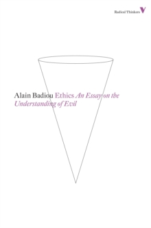 Ethics : An Essay on the Understanding of Evil, Paperback Book